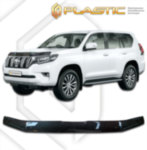 Дефлектор капота Toyota Land Cruiser Prado  2017–н.в.  (Classic черный)