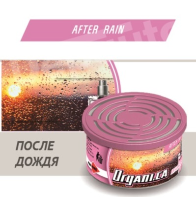 Ароматизатор ж/б AIM-ONE После Дождя. AIM-ONE Organic Cans After Rain (ORGANI.CA) ORG-AFR
