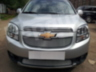 Защита радиатора Chevrolet Orlando chrome середина