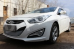 Защита радиатора Hyundai i40 2012-2015 chrome